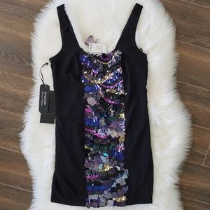 B2G1 NWT Bebe Limited Edition Sequin Party Dress